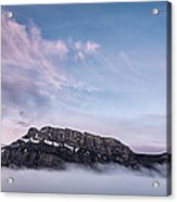 High Above The Clouds Acrylic Print by Jon Glaser