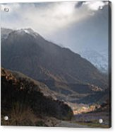 High Atlas Mountains Acrylic Print by Daniel Kocian