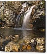 High Falls Talledega National Forest Alabama Acrylic Print by Charles Beeler