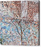 High Line Palimpsest Acrylic Print by Rona Black