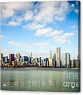 High Resolution Large Photo Of Chicago Skyline Acrylic Print by Paul Velgos