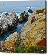 Highway One Acrylic Print by Michael Blesius