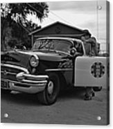 Highway Patrol 4 Acrylic Print by Tommy Anderson