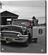 Highway Patrol 5 Acrylic Print by Tommy Anderson