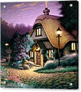 Hillcrest Cottage Acrylic Print by Steve Read