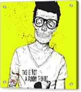 Hipsters Not Dead Acrylic Print by Balazs Solti