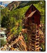 Historic Colorado Acrylic Print by Adam Jewell