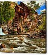 Historic Colorado Landscape Acrylic Print by Adam Jewell