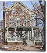 Historic Home Westifled New Jersey Acrylic Print by Anthony Butera