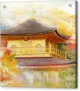 Historic Monuments Of Ancient Kyoto  Uji And Otsu Cities Acrylic Print by Catf