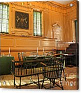 Historic Supreme Court Acrylic Print by Olivier Le Queinec