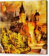 Hogwarts College Acrylic Print by George Rossidis