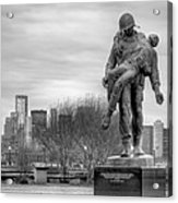 Holocaust Memorial  Acrylic Print by JC Findley