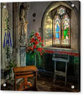 Holy Ground Acrylic Print by Adrian Evans