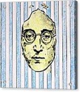 Homage To John Lennon  Acrylic Print by John  Nolan