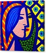 Homage To Pablo Picasso Acrylic Print by John  Nolan