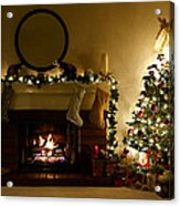 Home For The Holidays Acrylic Print by Ellen Henneke