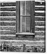 Home On The Range Acrylic Print by Edward Fielding