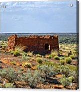 Homolovi Ruins State Park Az Acrylic Print by Christine Till