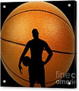 Hoop Dreams Acrylic Print by Cheryl Young