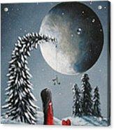 Hope Is On Her Way By Shawna Erback Acrylic Print by Shawna Erback