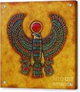 Horus Acrylic Print by Joseph Sonday