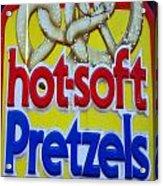 Hot Pretzels Acrylic Print by Skip Willits