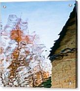 House By The Lake Acrylic Print by Alexander Senin