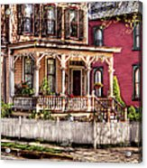 House - Country Victorian Acrylic Print by Mike Savad