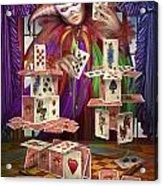 House Of Cards Acrylic Print by Ciro Marchetti