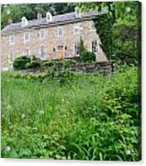 House On A Hill Acrylic Print by    Michael Glenn