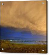 Hovering Stormy Weather Acrylic Print by James BO  Insogna
