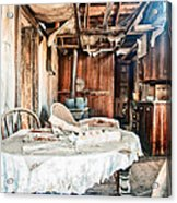 How Long Until Breakfast Acrylic Print by Cat Connor