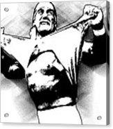 Hulk Hogan By Gbs Acrylic Print by Anibal Diaz