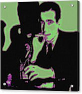Humphrey Bogart And The Maltese Falcon 20130323 Acrylic Print by Wingsdomain Art and Photography