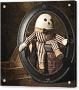 Humpty Dumpty Acrylic Print by Tom Mc Nemar