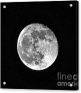 Hunters Moon Acrylic Print by Al Powell Photography USA