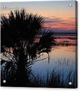 Hunting Isalnd Tidal Marsh Acrylic Print by Michael Weeks