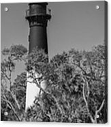 Hunting Island Light Acrylic Print by Brian Young