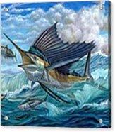 Hunting Sail Acrylic Print by Terry Fox