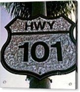 Hwy 101 Acrylic Print by Glenn McNary