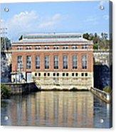 Hydroelectric Power Acrylic Print by Susan Leggett