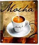 I Like  That Mocha Acrylic Print by Lourry Legarde