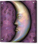 I See The Moon 2 Acrylic Print by Wendy J St Christopher