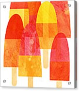 Ice Lollies Acrylic Print by Nic Squirrell