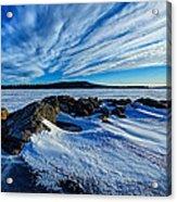 Icebound 7 Acrylic Print by Bill Caldwell -        ABeautifulSky Photography