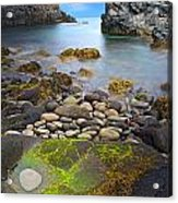 Iceland Rocky Coast Landscape Acrylic Print by Dirk Ercken