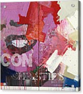 Icon I Acrylic Print by Sheila Elsea