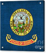 Idaho State Flag Acrylic Print by Pixel Chimp