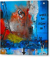If I Ask Acrylic Print by Mirko Gallery